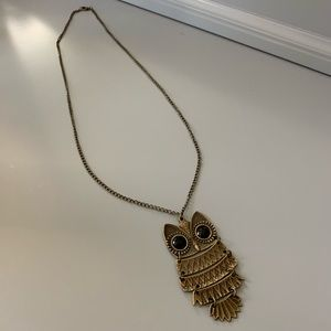 Owl Boho Necklace